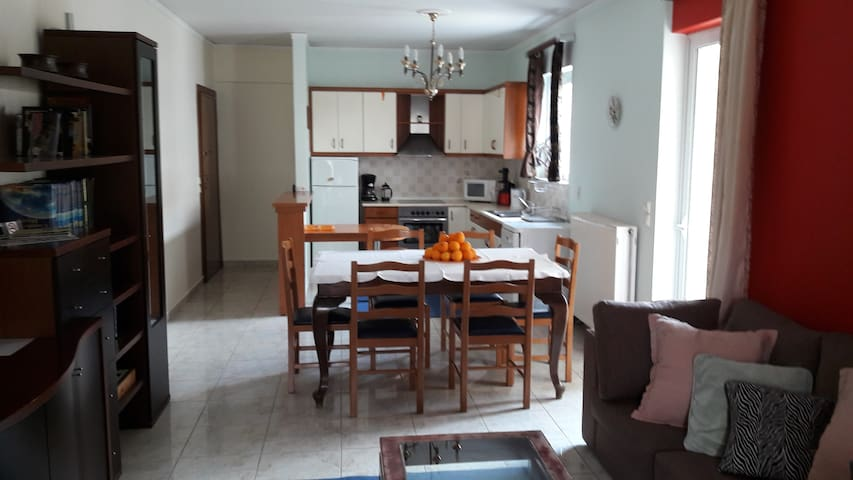 Extra 102m2 apartment in Nafplio!! - Navplion - アパート