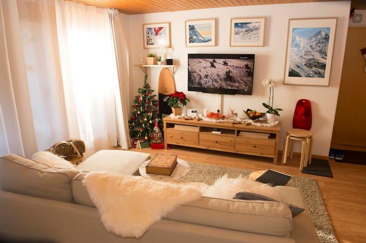 少女峰-ski town/Wengen/Top of Europe/R1 - Lauterbrunnen - Apartemen