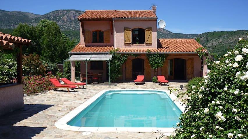 Villa Estelle, Mountain view, Garden, Parking wifi - Fuilla - Villa