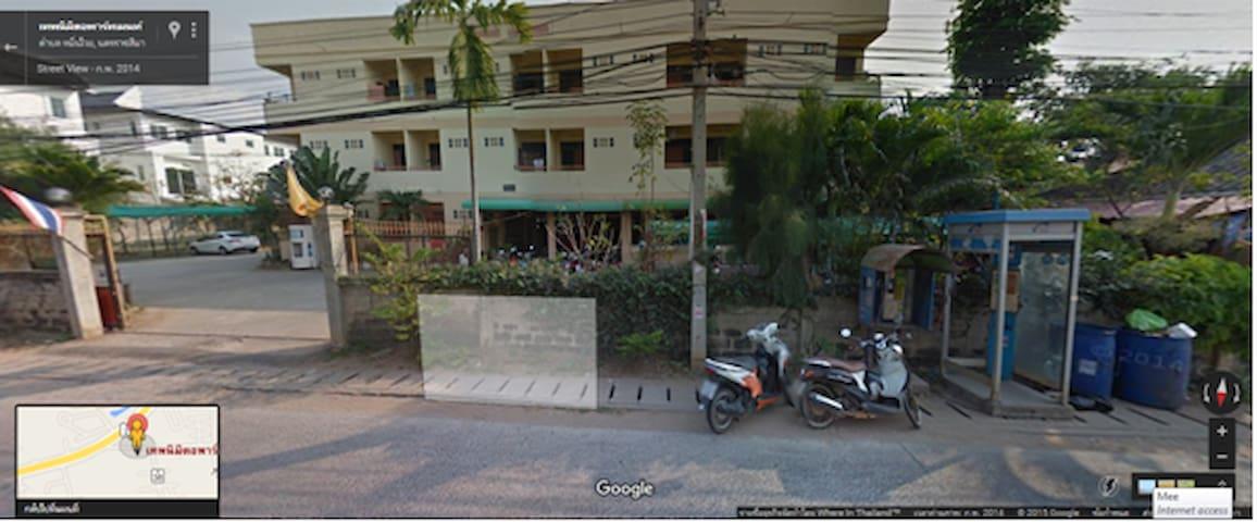 เทพนิมิตรอพาร์ทเม้นท์ - Muen Wai - Daire