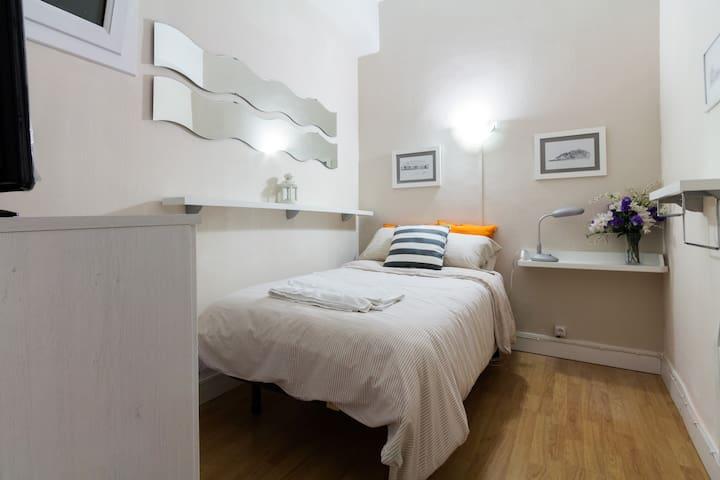 Single room in the Old Town WIFI - San Sebastián