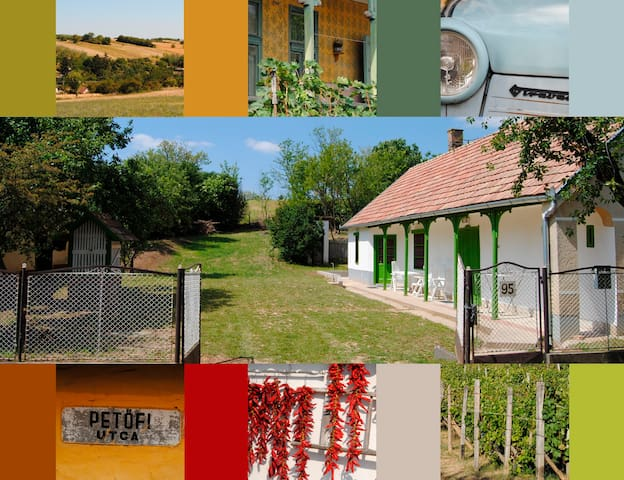 Authentic farmhouse Balaton region  - Kánya
