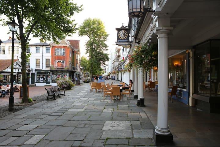 Upper Walks, Pantiles - Royal Tunbridge Wells - Wohnung