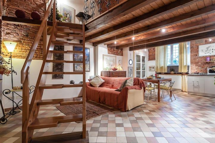 Loft  in Antico Palazzo in Via Fillungo - Lucques - Loft