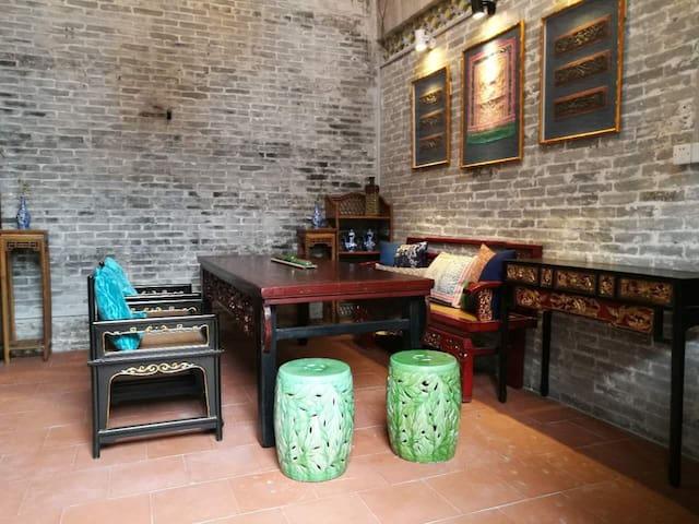千年古镇百年青砖大宅整栋 - Guangzhou - Haus