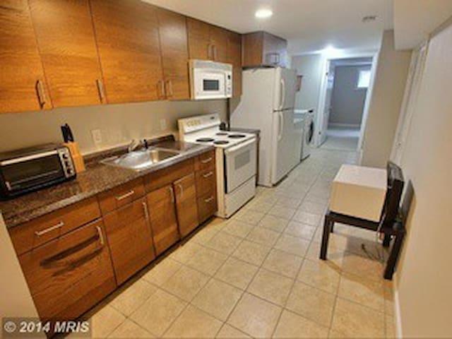 Apartment Close to UMD, off I-495 - Adelphi - Huoneisto
