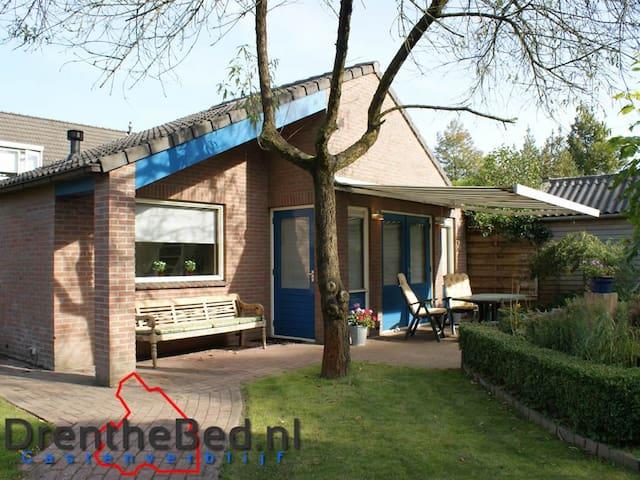 Overnachten in Drenthe, dichtbij Emmen en Assen - Exloo - Hus