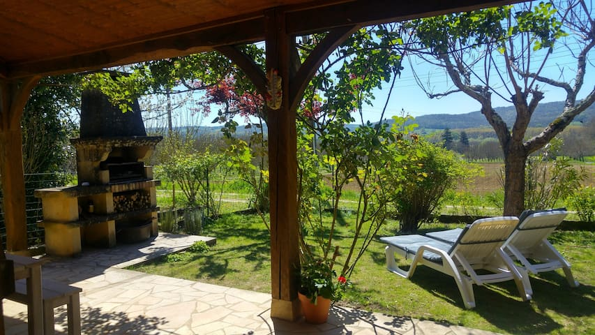 Charming cottage with views across Dordogne valley - Sarlat-la-Canéda - Casa