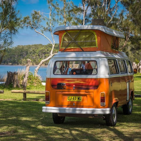 Retro Kombi Camper Self Drive holiday Batemans Bay - Malua Bay - Camper