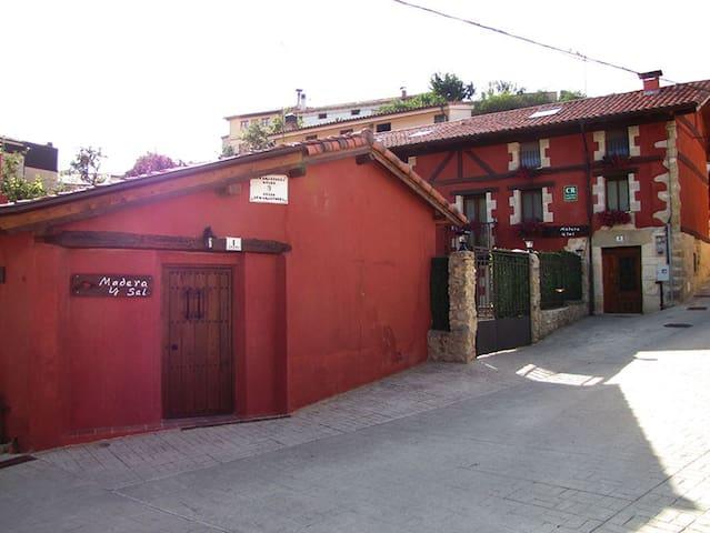 Casa rural Madera y Sal en Salinas de Añana - Gesaltza Añana - 獨棟