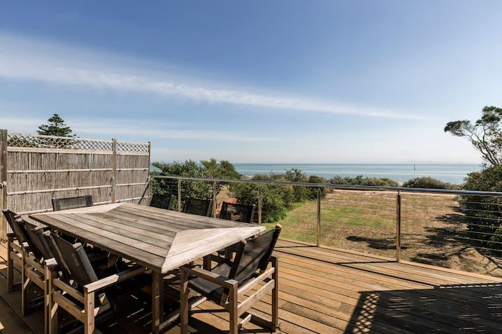 The Beach is your backyard - Portarlington - Huis