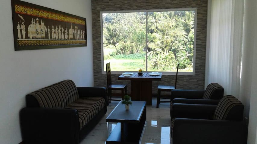 Apartment with great view of Rice fields - Kandy - Lägenhet