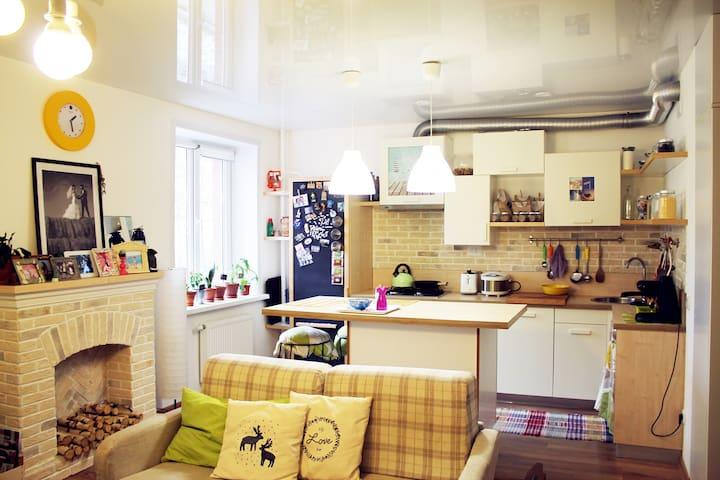 Studio apartment for travallers - Oktyabrskoye - Appartement