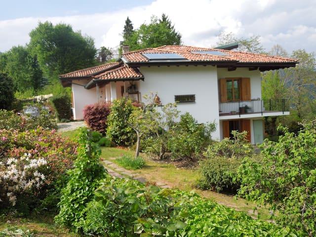 Apartment in villa with large garden - Cadegliano-Viconago - Apartament