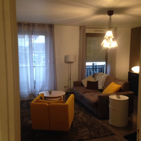 Cosy apartment in the heart of Mulhouse downtown - Mulhouse - Huoneisto