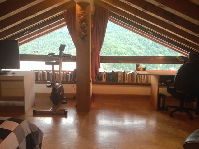 Bright spacious attic on the way to Cortina - Venas di Cadore - Vila