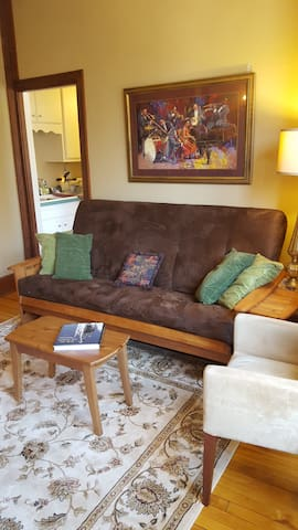 Private apartment in historic Saint Paul, MN home - Saint Paul - Lejlighed