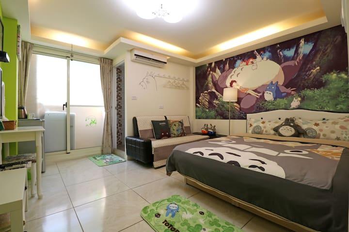 台中逢甲-Totoro Room Taichung Fengjia - Xitun District - Ev
