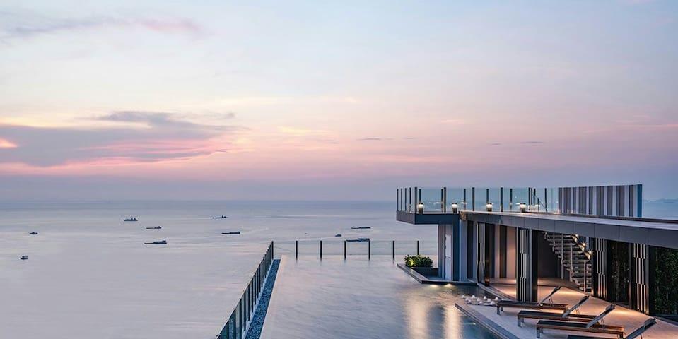 LUXURY seaview  300 m Pattaya beach - Pattaya