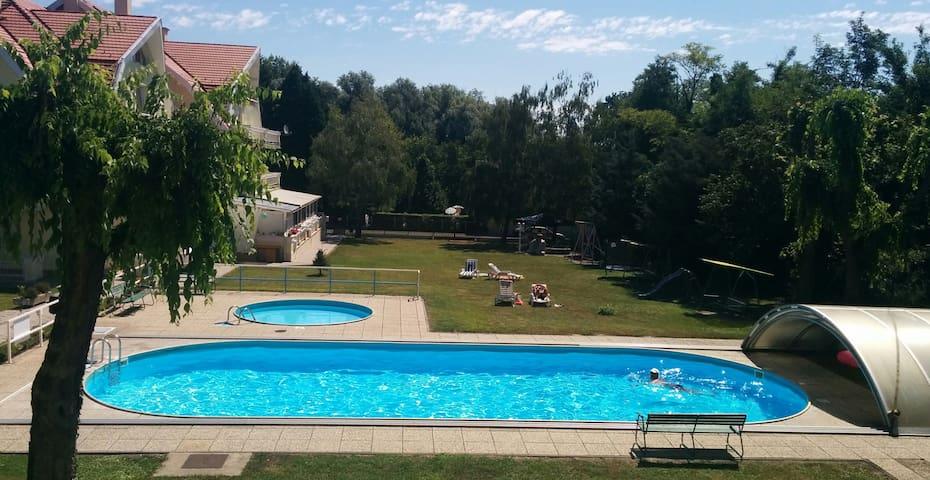 Helikon Studio 5 min away from Balaton - Keszthely - Apartemen