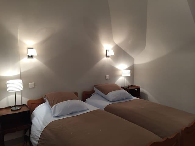 B&B sea vue: room 2 (private bath) - Cayeux-sur-Mer - Bed & Breakfast