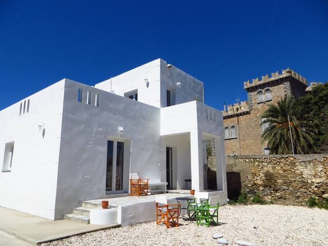 spacious, newly-built maisonette  - Άλινδα - Hus