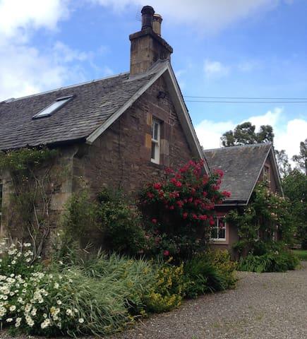 Woodside Cottage, Cromlix, Dunblane - Cromlix - Daire
