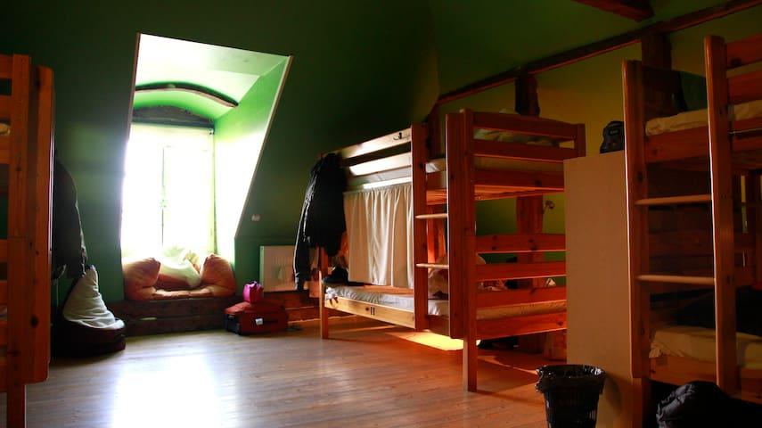 A dorm bed in Travellers house - Tallinn - Studentrum