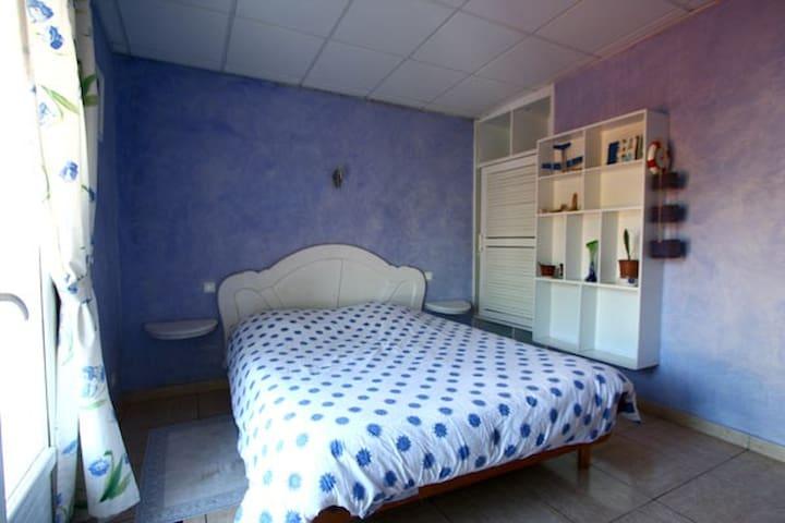l'Echelle chambre bleue outre-mer - Saint Benoit - Casa