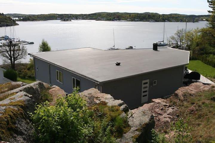 Helårsbolig med panoramautsikt ! - Kjøpmannskjær - Hus
