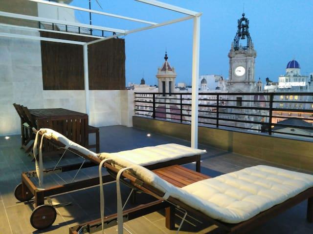 ATICO-LOFT DE LUJO.      VT-36576-V - València - Çatı Katı