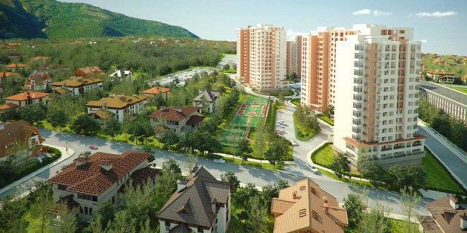 Уютная квартира 45 кв.м. на первом этаже - Gelendzhik - Lägenhet