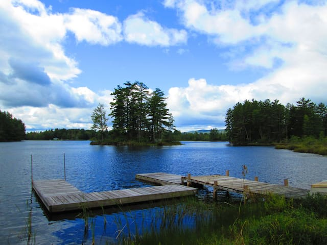 Private Mirror Lake Home - Whitefield - Casa