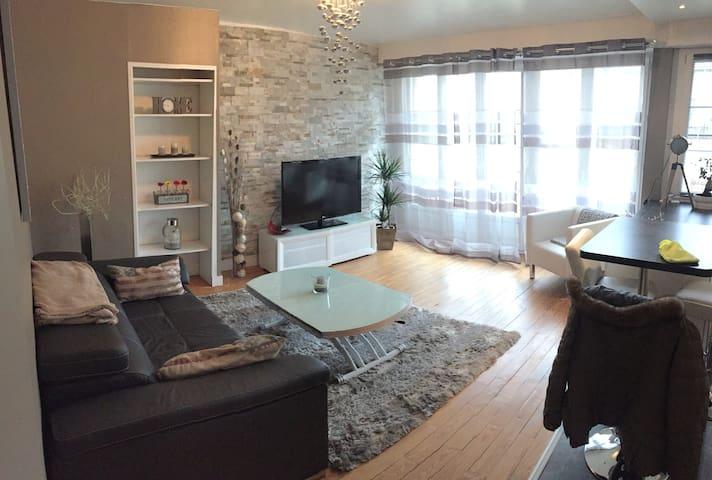 Appartement F2 tout confort avec parking privé - Lisieux - Lägenhet