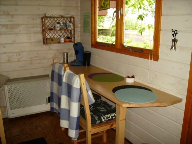 Annabell, een houten chalet voor 2 - Bellingwolde - Outros