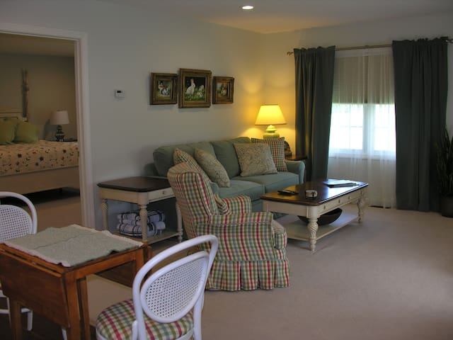 Vermont beautiful spacious guest suite near Smuggs - Westford - Huis