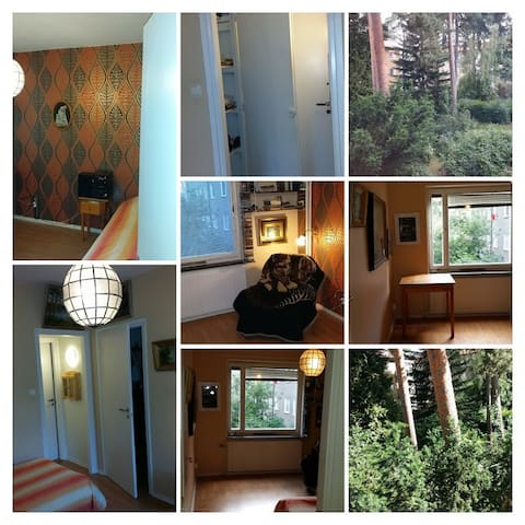 Apartement near nature reserve and city - Tukholma - Huoneisto