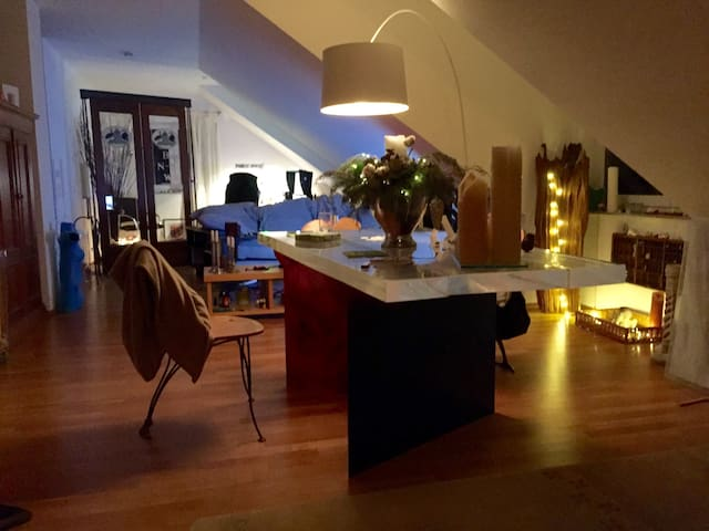 room in cozy Apartment near town and nature - Bensheim - Квартира