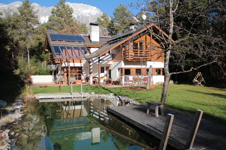 Country House with Pool and Sauna - Obermieming - Hus