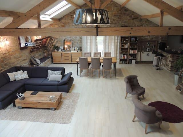 Grande maison de campagne restaurée - Frossay - Casa