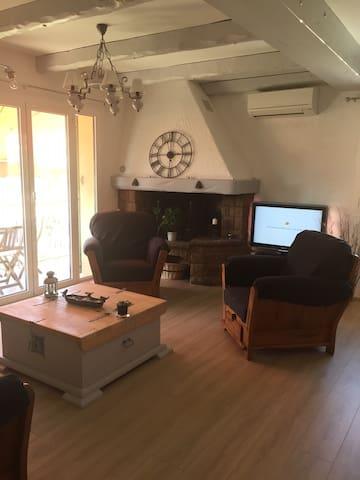 Appartement cosy aux portes de Nice Côte d'Azur - La Trinité - Lägenhet