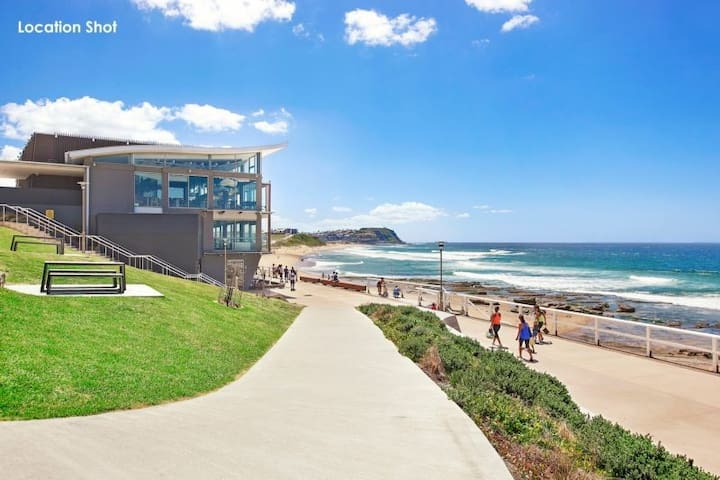 Clean, Comfy & Close to the Beach - Merewether - Departamento