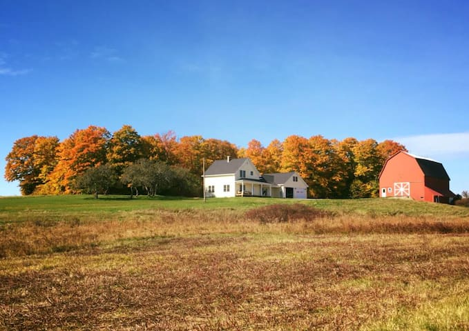 Best of Northern Maine Farmhouse (Room 1) - Woodland - Huis