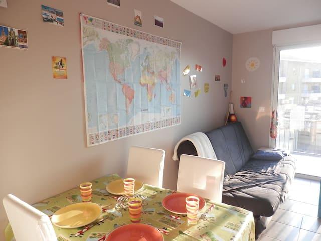 Halte albigeoise paisible/Nice Flat - Albi - Apartamento