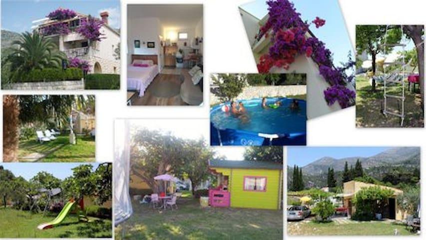 VillaDube - Family Garden Bungalow - Slano - Rumah