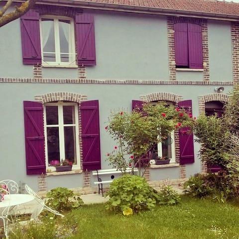 Jolie maison de ville avec jardin - Troyes - Ev