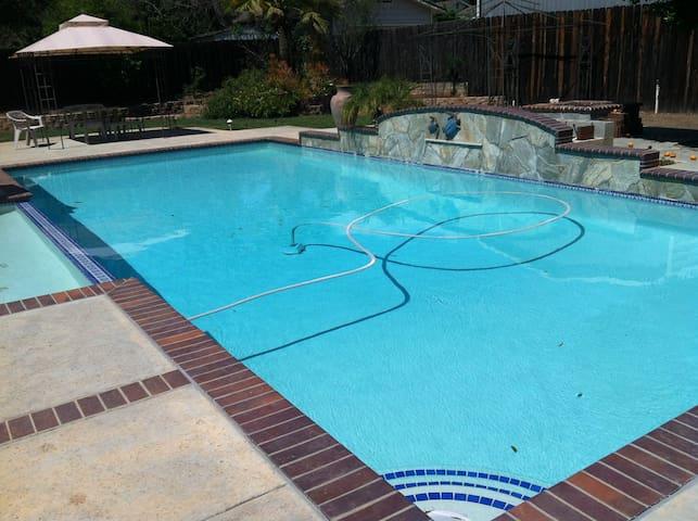 Private Poolside Garden Retreat - El Cajon - Maison