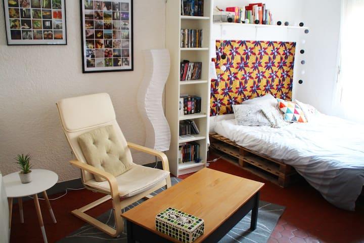 Cute studio in the very center of the city - Aix-en-Provence - Leilighet