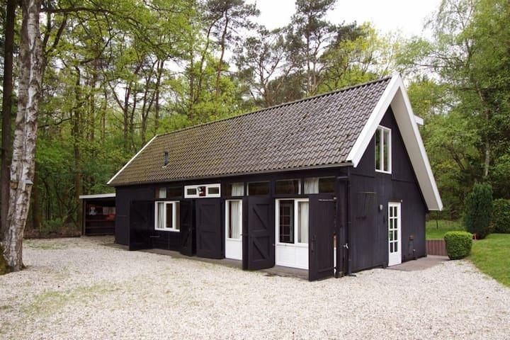 Boscottage prive wellness, op open plek in t bos - Nunspeet