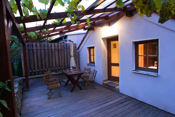 Apartment in wine cellar village - Nový Šaldorf-Sedlešovice - Pension